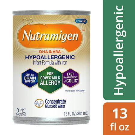 Nutramigen Hypoallergenic Infant Formula - Concentrate, 13 fl oz Can