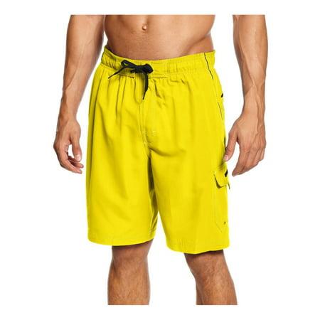e5d24d1b3b Speedo Mens Marina Volley Swim Bottom Board Shorts - Walmart.com