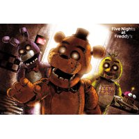 Five Nights At Freddys Horror Video Gaming Poster 34x22