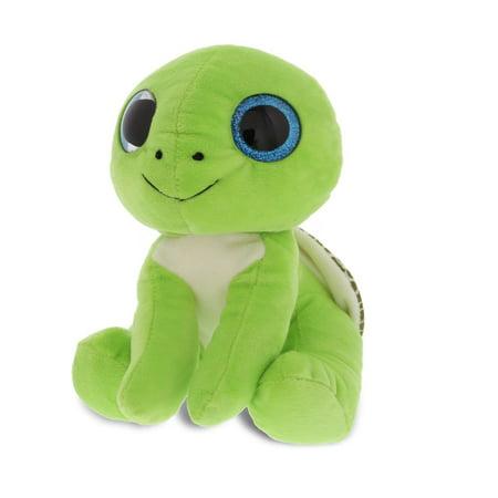 Dollibu Sparkling Big Eye Plush Soft Stuffed Animal Teddy Bear - Large Turtle