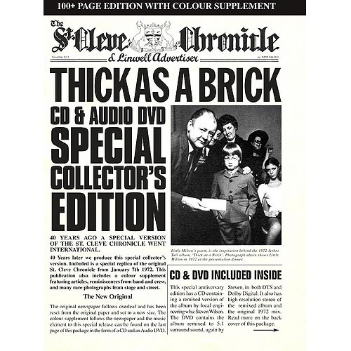 Thick As A Brick (40th Anniversary) (CD/DVD)