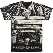 Avenged Sevenfold Men's  Alchemist T-shirt Black