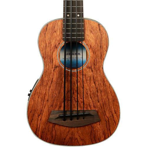 Kala U-Bass Acoustic/Electric Satin All-Solid Mahogany Fretless w/Case