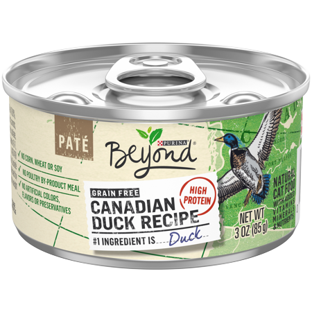 Perigord Duck Pate (Purina Beyond Natural Grain Free Canadian Duck Recipe Adult Wet Cat Food - (12) 3 oz. Cans )