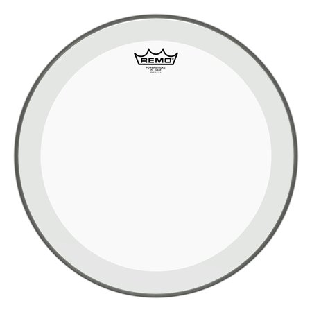 Clear Mylar Batter Drum Head - Batter, POWERSTROKE 4, Clear, 16