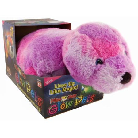 My Pillow Pets Glow Pets 17  Seal It's always fun going to bed with your favorite glow pet! The My Pillow Pets Glow Pets Seal is a fun and functional item that makes every room a little brighter. Great for My Pillow Pets fans of all ages.