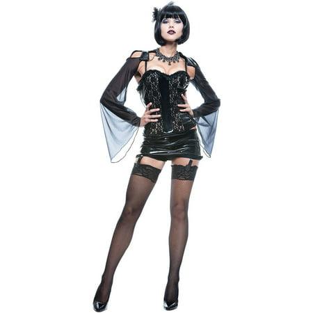 Mistress Of The Dark Costume (Midnite Mistress Women's Adult Halloween)