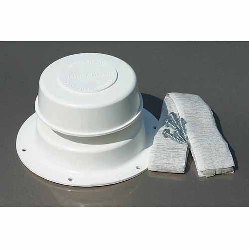 Camco Replace All Plumbing Vent Kit, Polar White