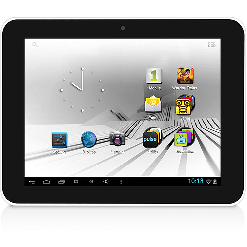 "D2 7"" Tablet with 4GB Memory and One Pre-loaded Family Movie"