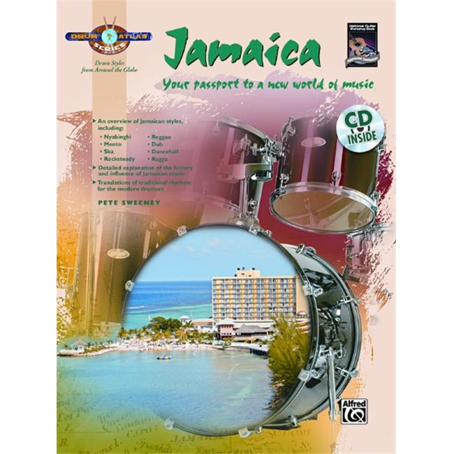 Alfred Drum Atlas: Jamaica (Book and CD)