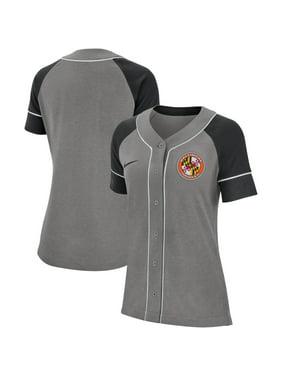 Baltimore Orioles Nike Women's Classic Baseball Jersey - Gray