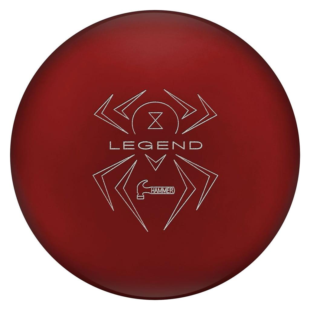 Hammer Bowling Black Widow RED Legend SOLID Bowling Ball