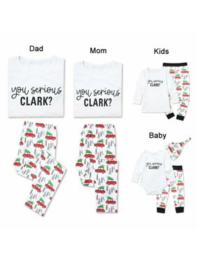 Pudcoco Family Matching Christmas Pajamas Set Xmas Women Man Baby Kids Hooded Sleepwear Nightwear 2019 Fashion New Year's Cute Set