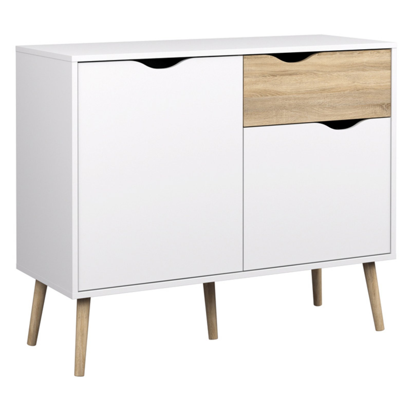 Tvilum Delta Diana Sideboard with 2 Doors and 1 Drawer by Generic