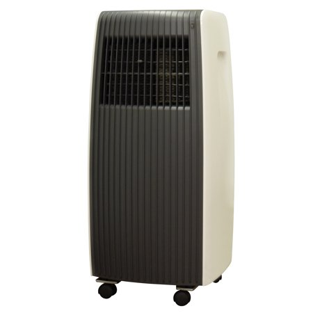Sunpentown WA-1070E 10,000-BTU Room Portable Air Conditioner, Black/Tan
