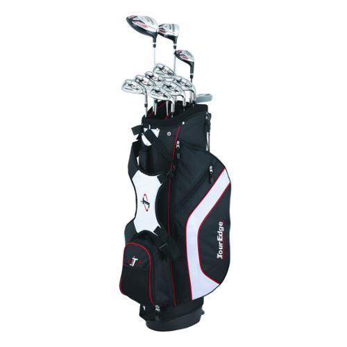 Tour Edge Golf Mfg. Inc.  Men's Black Reaction 3 Bag and ...