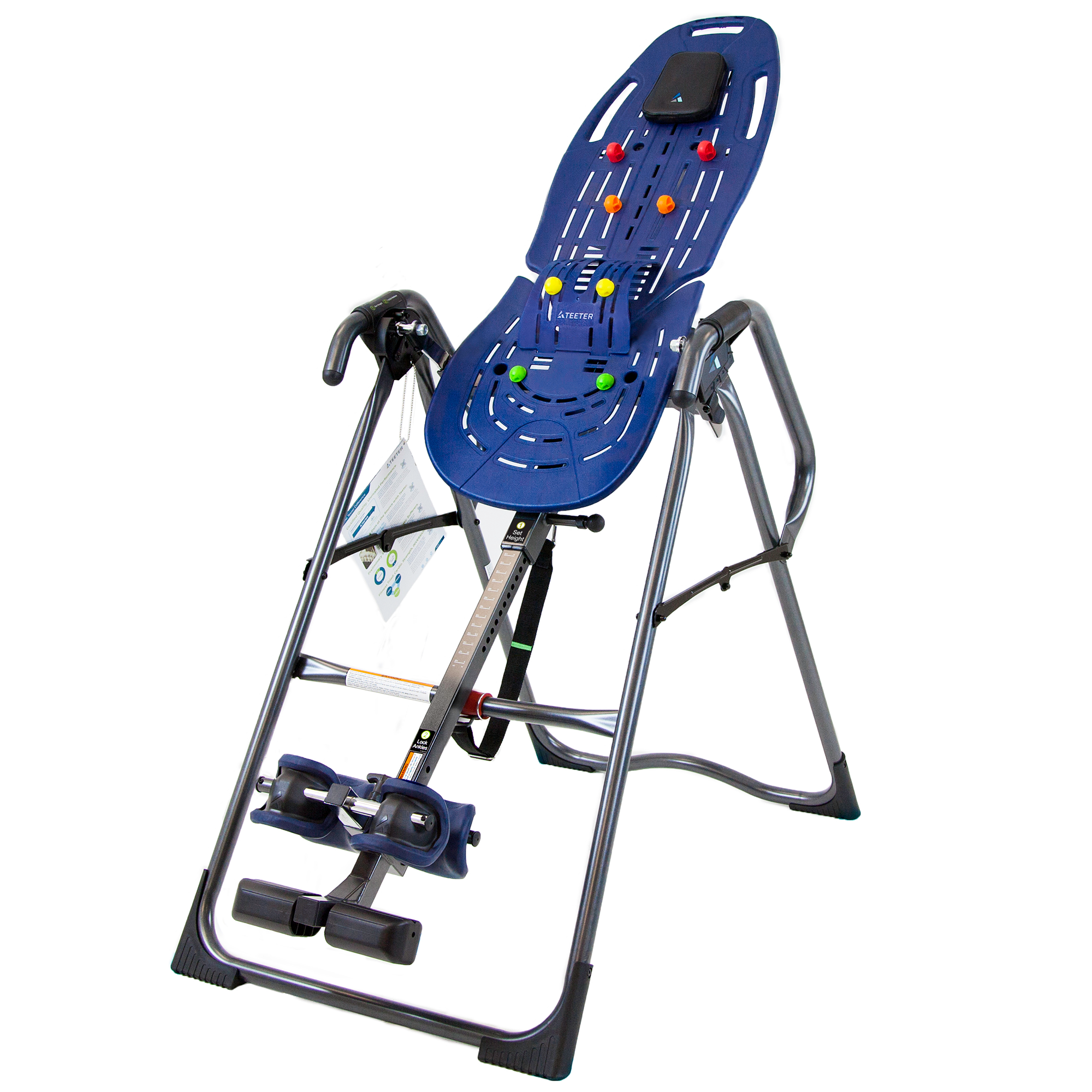 Teeter Ep 860 Ltd Inversion Table With Back Pain Relief Kit