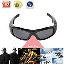 JOYCAM Sunglasses with Camera Video Recording HD 720P Polarized UV400 Glasses Wearable Sports Action Camcorder