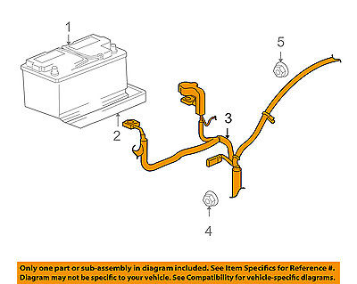 Jeep CHRYSLER OEM 07 08 Grand Cherokee Battery Cable 56047793AF