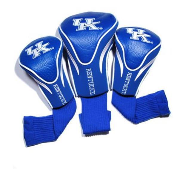 Team Golf 21994 University of Kentucky 3 Pack Contour Fit Headcover