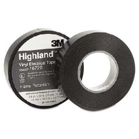 - 3M MMM16720 Highland Vinyl Commercial Grade Electrical Tape, 3/4