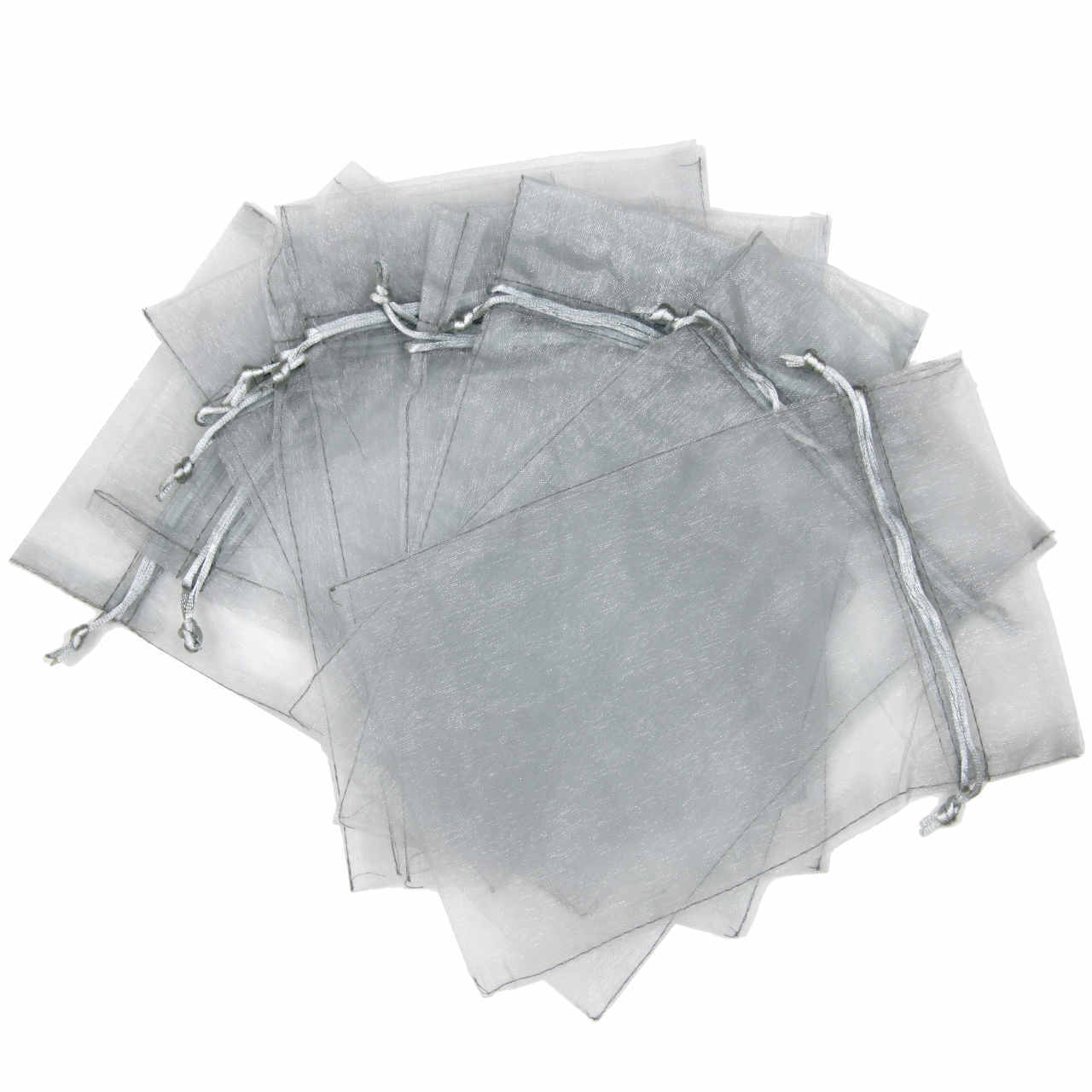 "Organza Bags Fabric Gift Favor Party Bags Drawstring (30 Pieces) - Large 8.75"" By 13.75"""