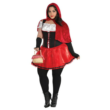 Little Red Riding Hood Adult Costume - Plus Size (Snow White Costume Plus Size)