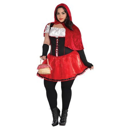 Little Red Riding Hood Adult Costume - Plus Size - Red Riding Hood Costume Adult
