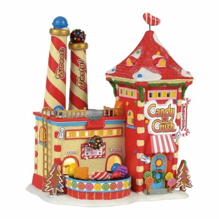 Dept 56 North Pole Series 4056669 North Pole Candy Crush Factory Department 56 North Pole Series