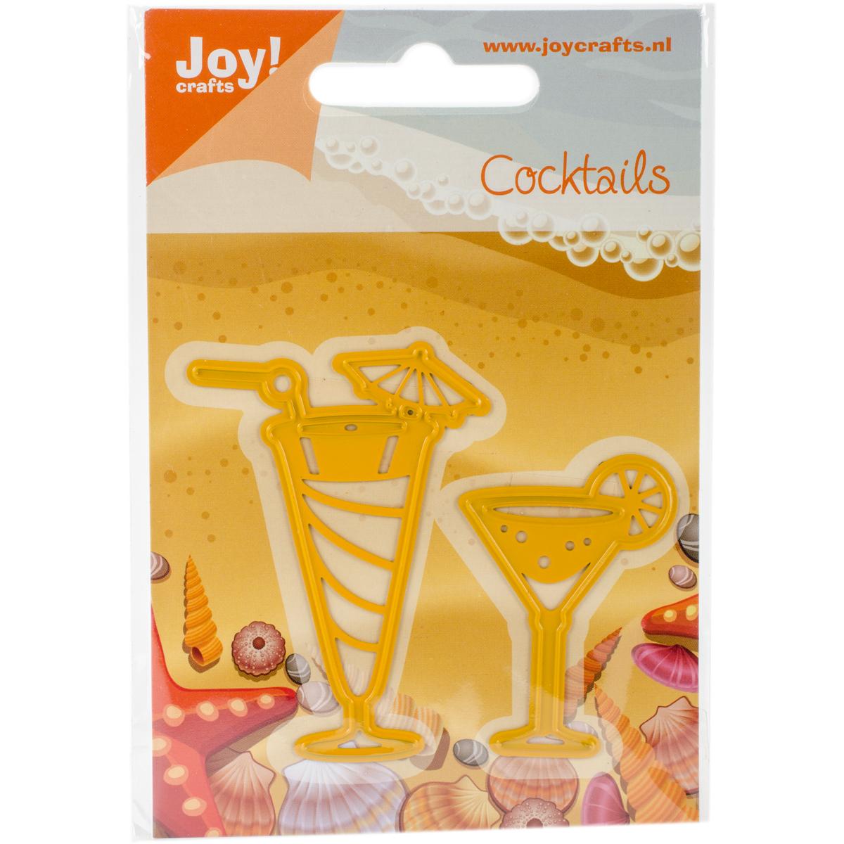 Joy! Crafts Cut & Emboss Die-Drinking Glasses 2