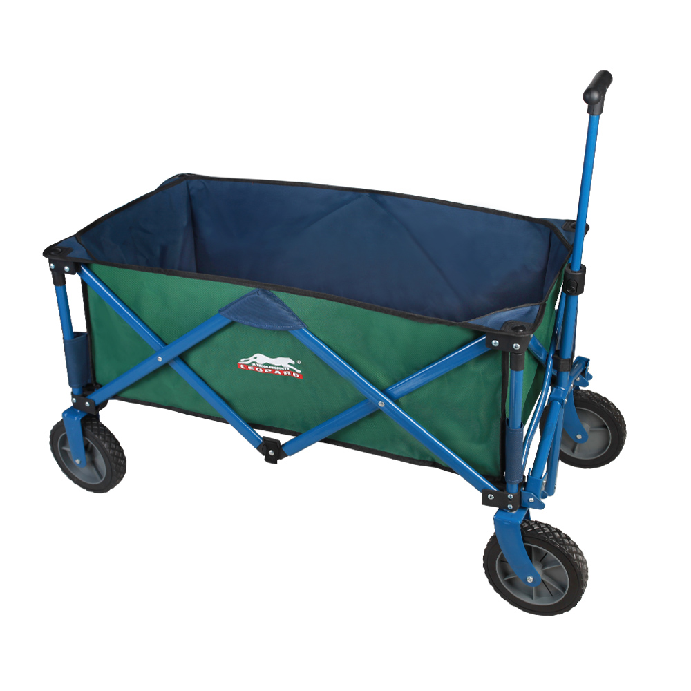 Leopard Outdoor Sports Collapsible Utility Wagon