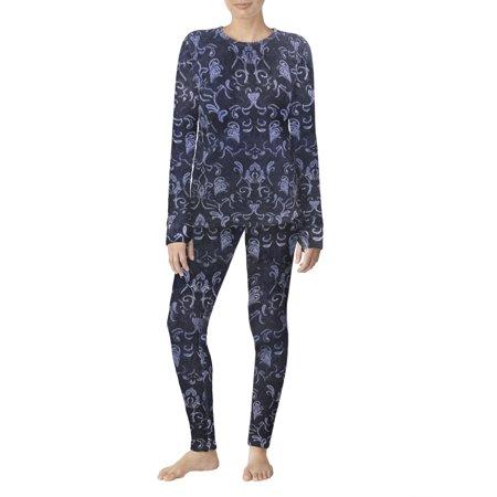 c5994023b6b ClimateRight by Cuddl Duds - Women's Stretch Fleece Warm Underwear Leggings  - Walmart.com