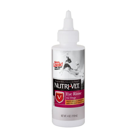 Nutri-Vet Dog Eye Rinse, 4oz (Pink Eye In Dogs Contagious To Humans)