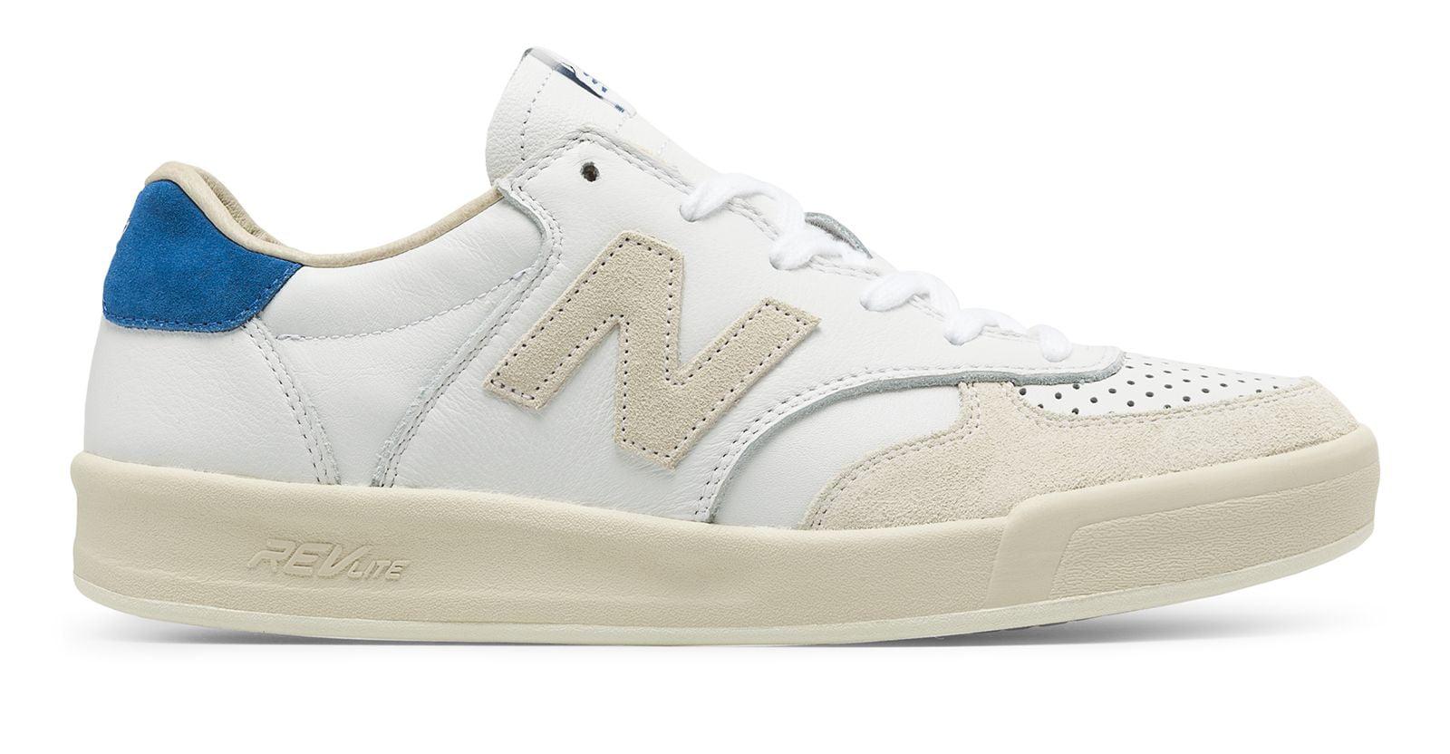 Balance Men's 300 Leather Shoes White