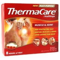 2 Pack - ThermaCare Heat Wraps Muscle & Joint 3 ea
