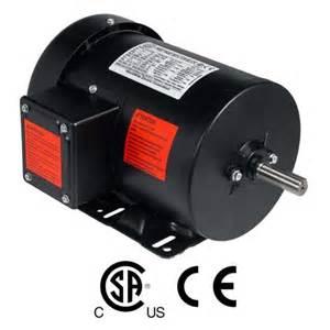 1 HP Electric Motor 3 Phase Premium Efficiency 56H Frame 1800 RPM TEFC 230/460 V