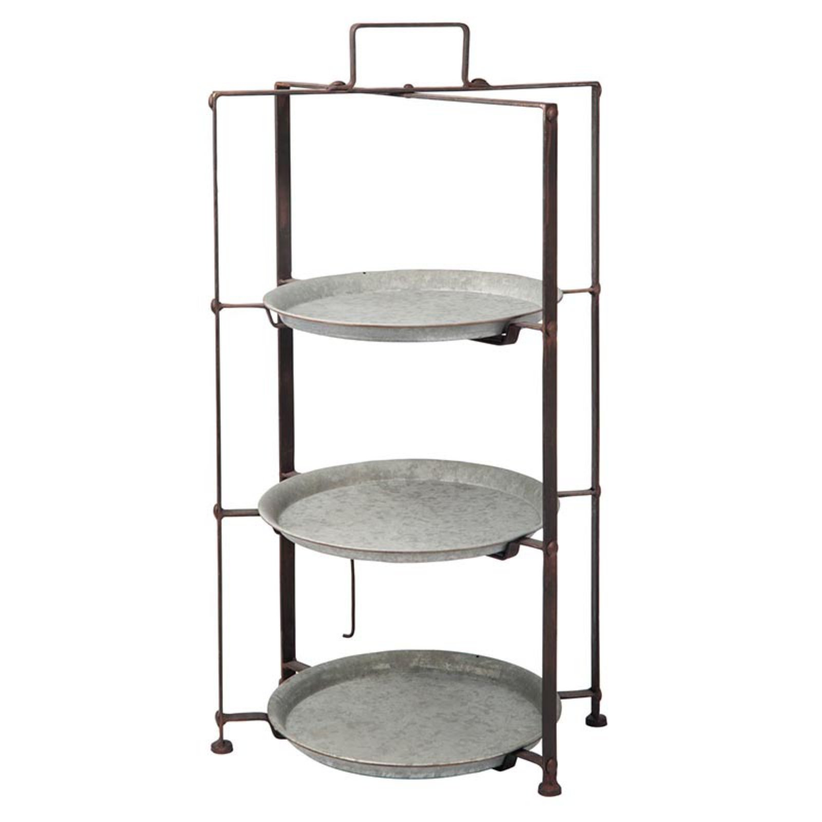 Foreside Home and Garden Cecilia 3 Tiered Server