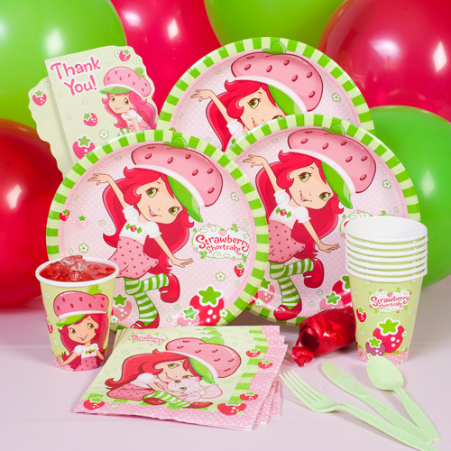 Strawberry Shortcake Party Pack for 8