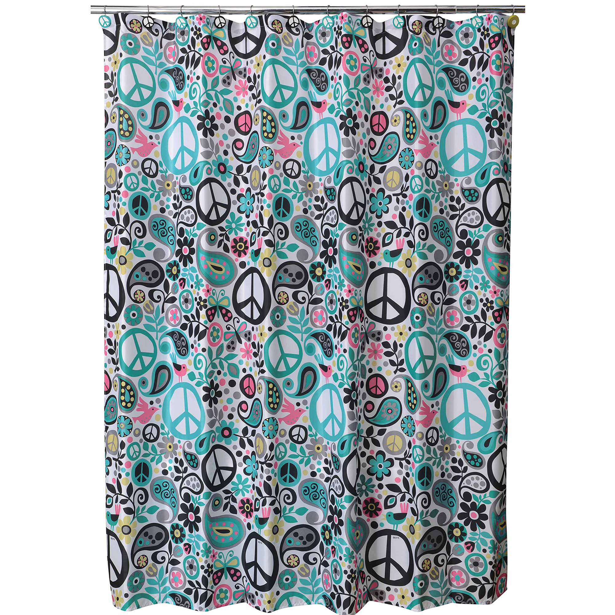 Charmant World Of Peace Shower Curtain