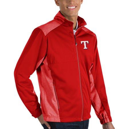 Texas Rangers Antigua Revolve Full-Zip Jacket - Red