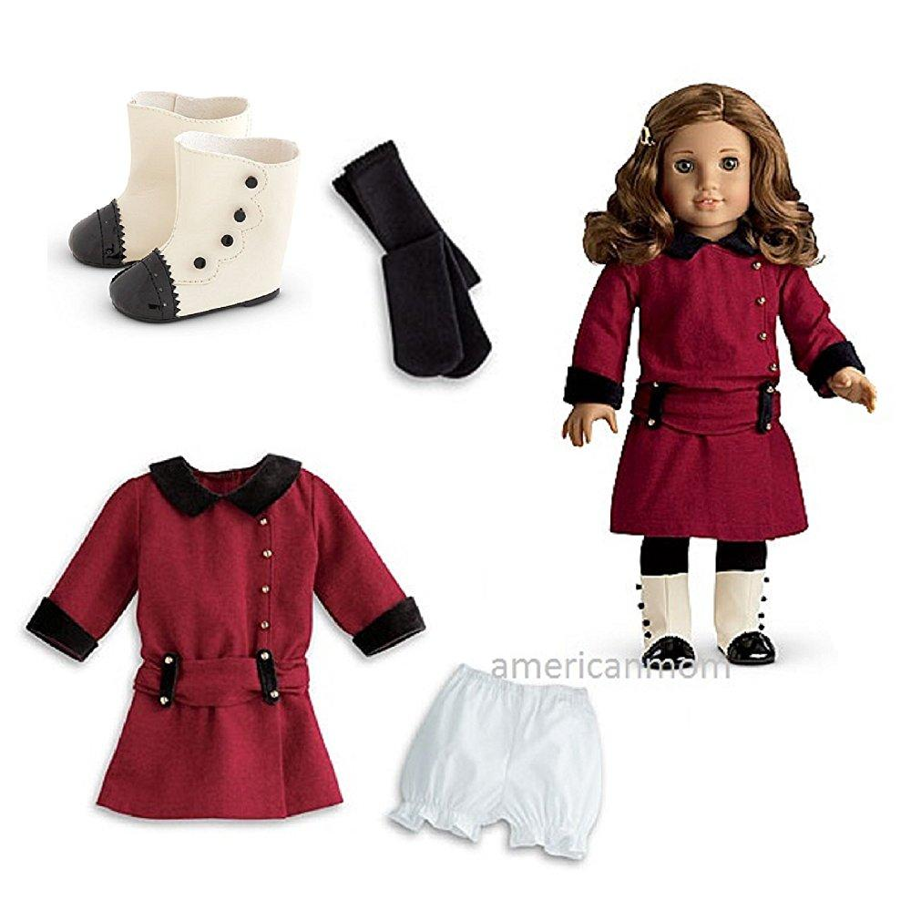American Girl rebecca's classic meet outfit with boots fo...