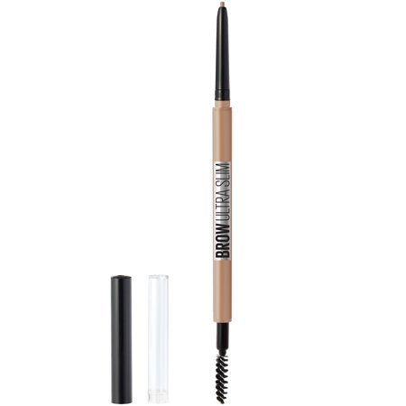 Maybelline Brow Ultra Slim Defining Eyebrow Pencil, Light Blonde, 0.003
