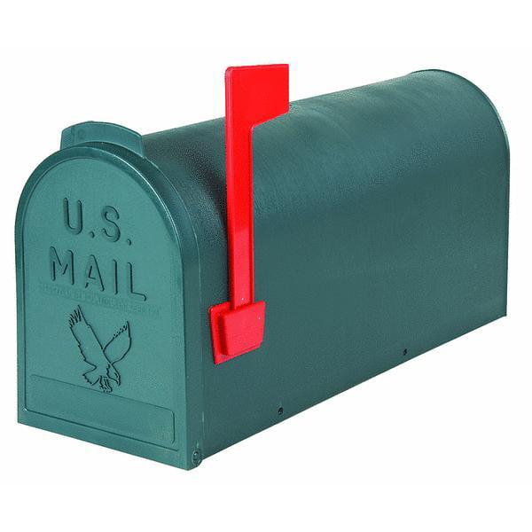 Flambeau T2 Plastic Post Mount Mailbox by Flambeau Prod.