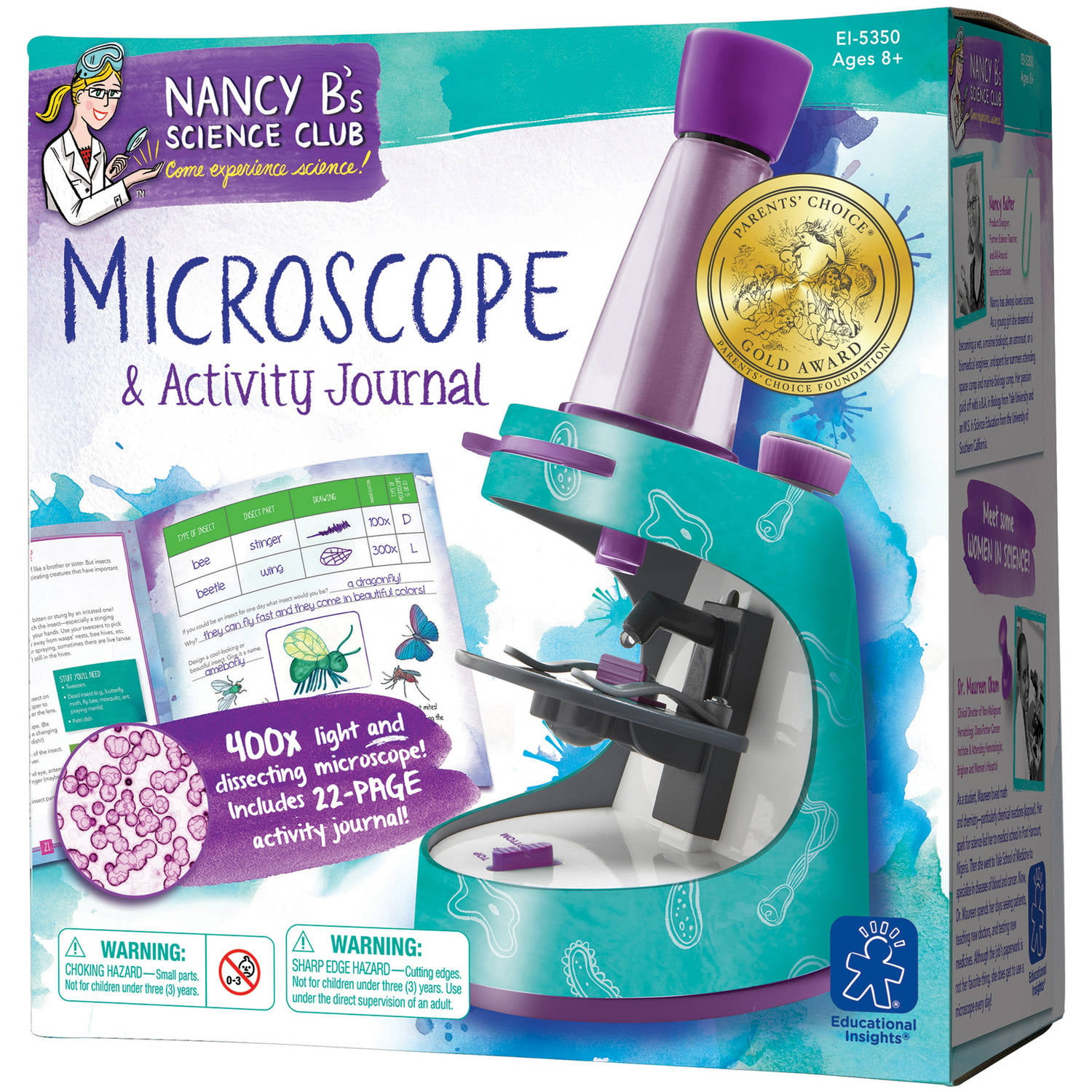 Educational Insights Nancy B s Science Club Microscope and