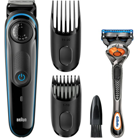 braun bt3040 hair beard trimmer for men multi grooming. Black Bedroom Furniture Sets. Home Design Ideas
