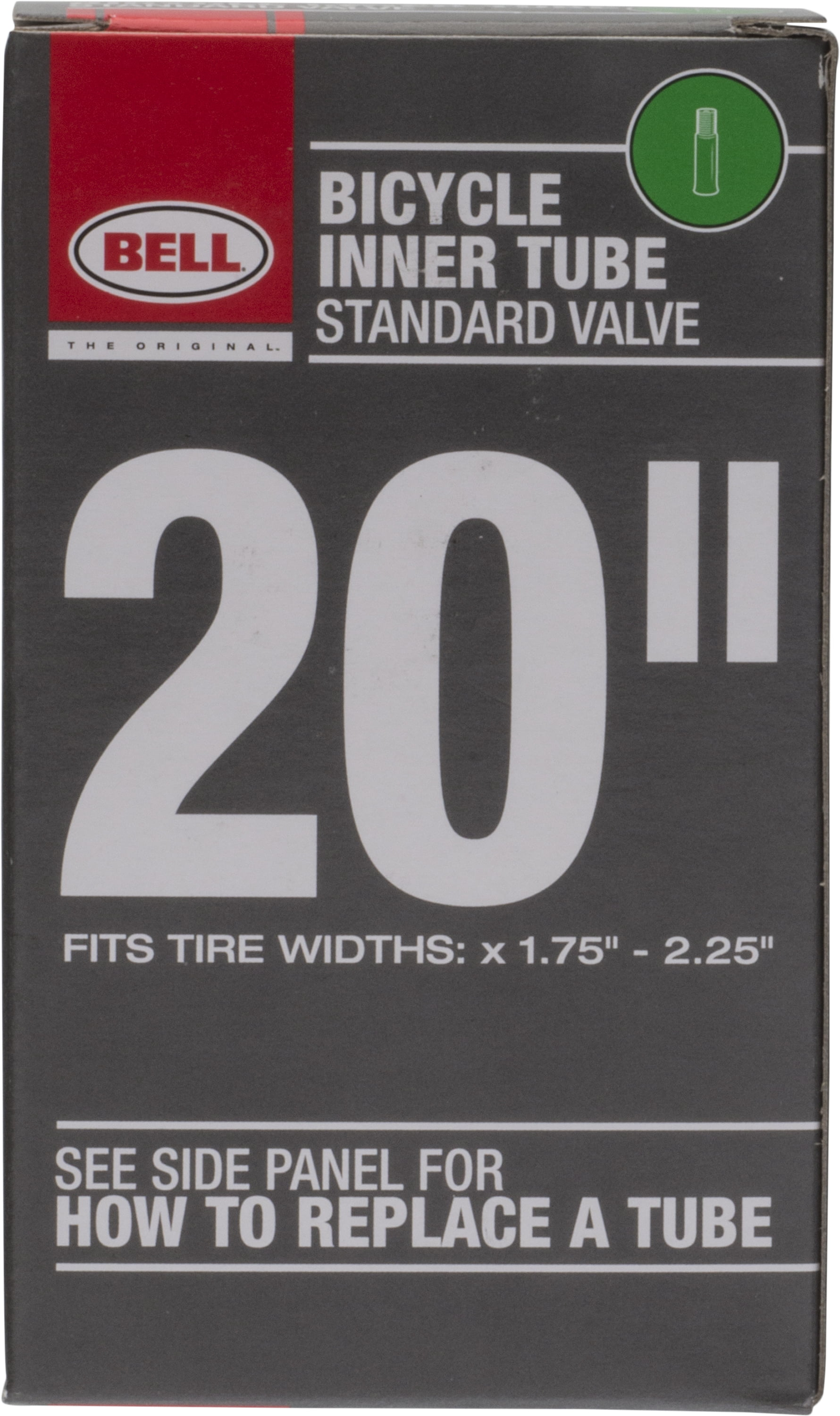 """Bell Bicycle Standard 26/"""" Schrader Valve Tube Fits Width 1.75-2.25-2 Boxes"""