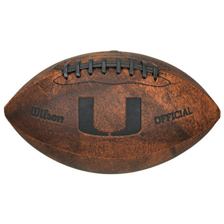 NCAA Vintage Football, University of Miami Hurricanes](Univ Of Miami Football)