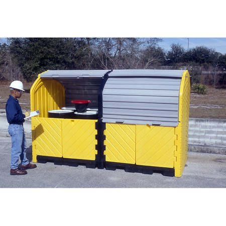 Ultratech 55 Gal Hard Top 8 Drum Model Drain 836 Product Photo