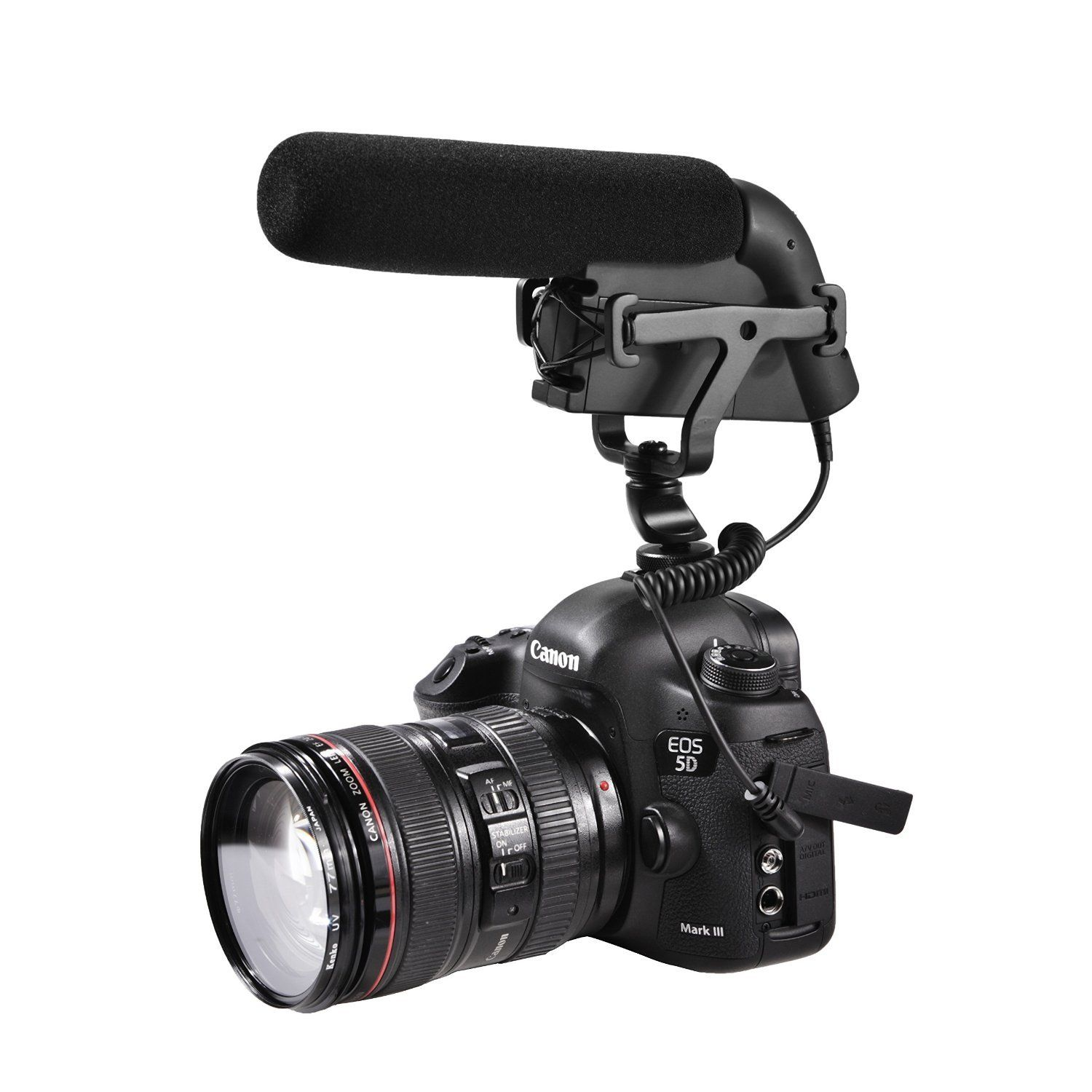 Sevenoak SK-CM300 Shotgun Video Condensor Microphone for DSLR Cameras and Camcorders