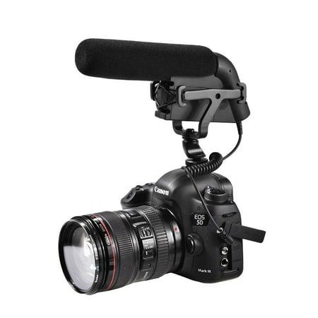 Sevenoak SK-CM300 Shotgun Video Condensor Microphone for DSLR Cameras and